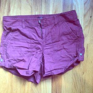 Gap Maroon Size 2 Shorts